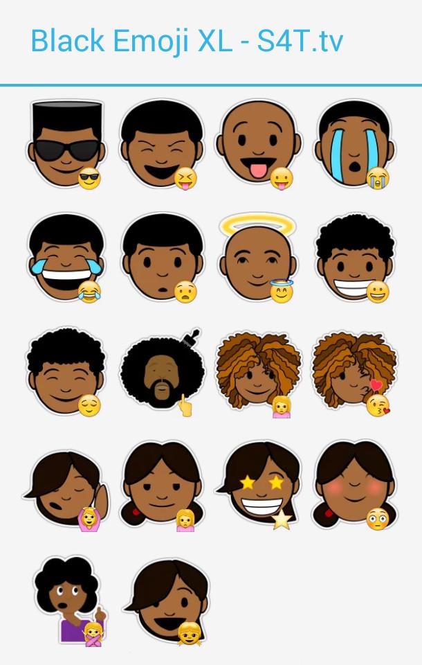 Black Emoji XL