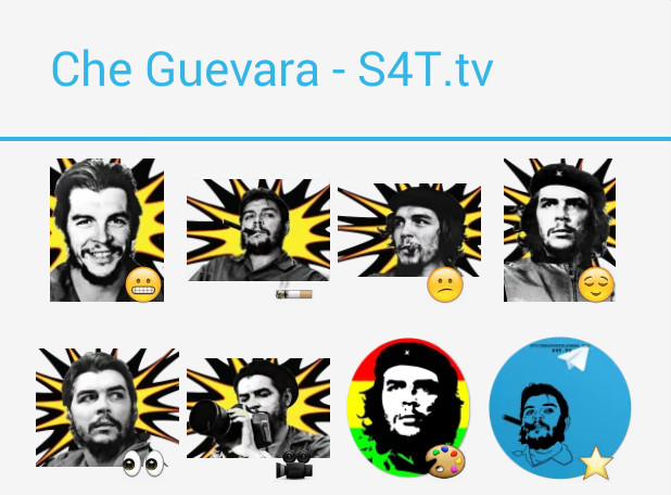 Che Guevara Stickers