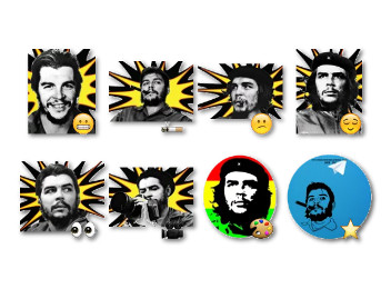 Che Guevara Stickers