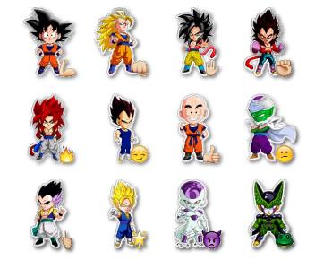 Dragon Ball Z | CHIBI Stickers