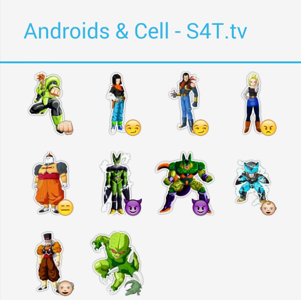 Androids & Cell Stickers