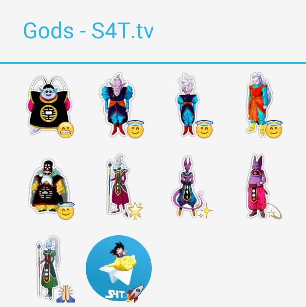 Gods Stickers