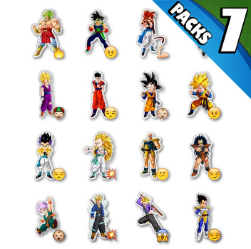 DBZ Stickers
