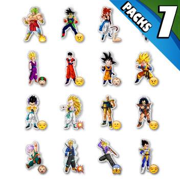 DBZ Stickers