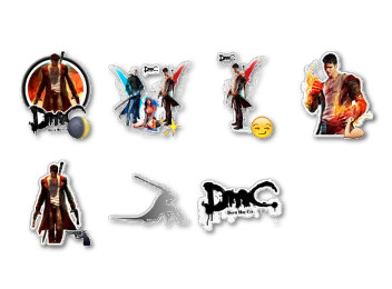 Devil May Cry Stickers
