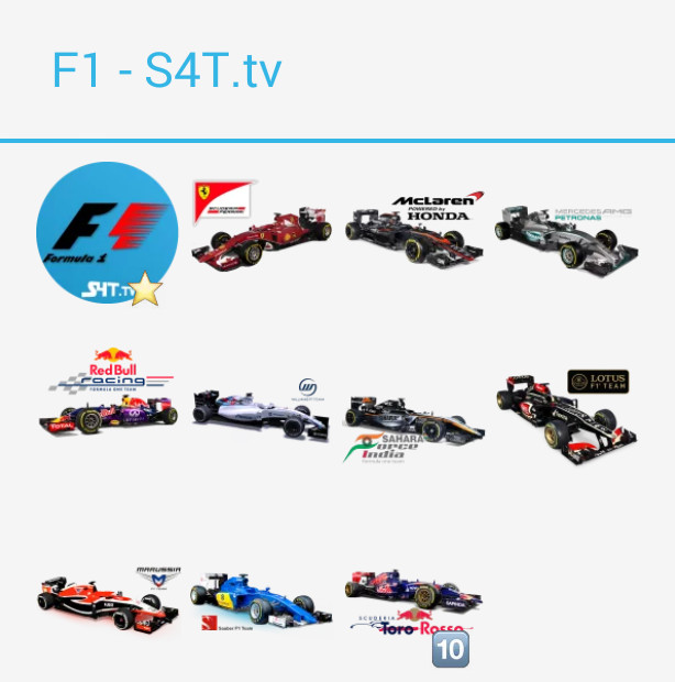 Formula 1 Stickers