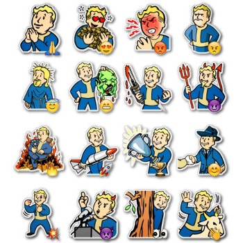 Vault Boy from Fall Out
