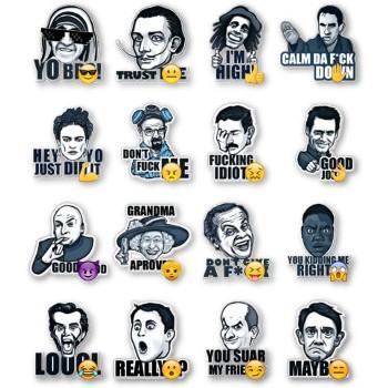 Famous Characters (Caption)