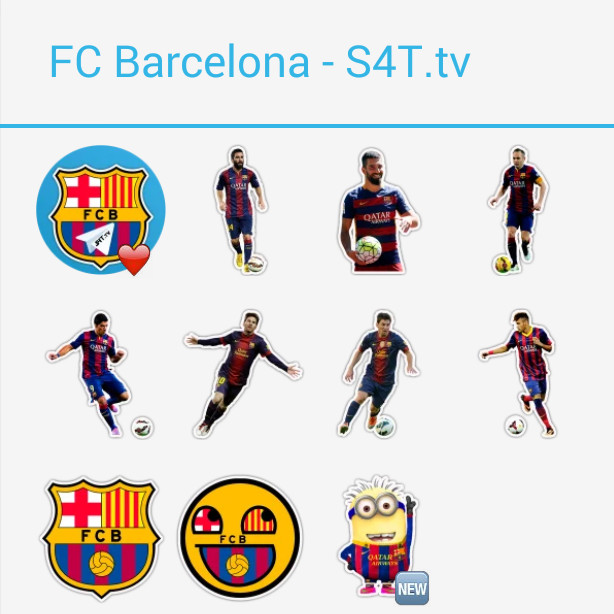 FC Barcelona Stickers