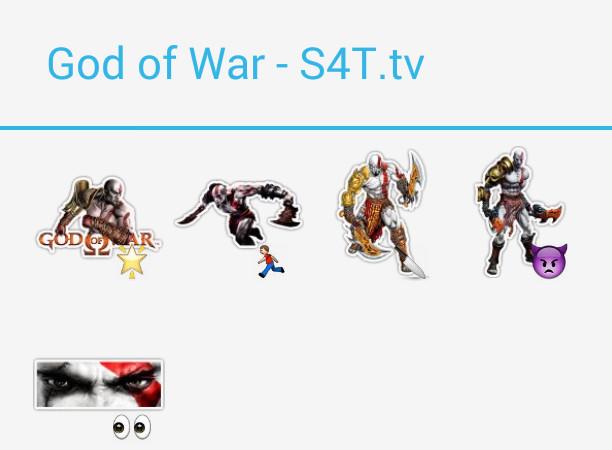 God of War Stickers
