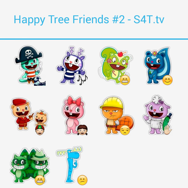 Happy Tree Friends Stickers