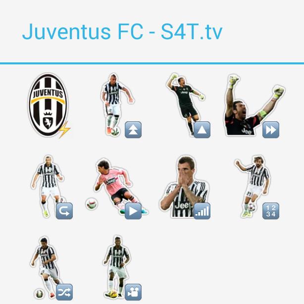 Juventus Turin Stickers