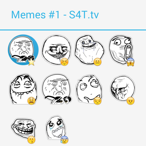 Memes Pack1 Stickers