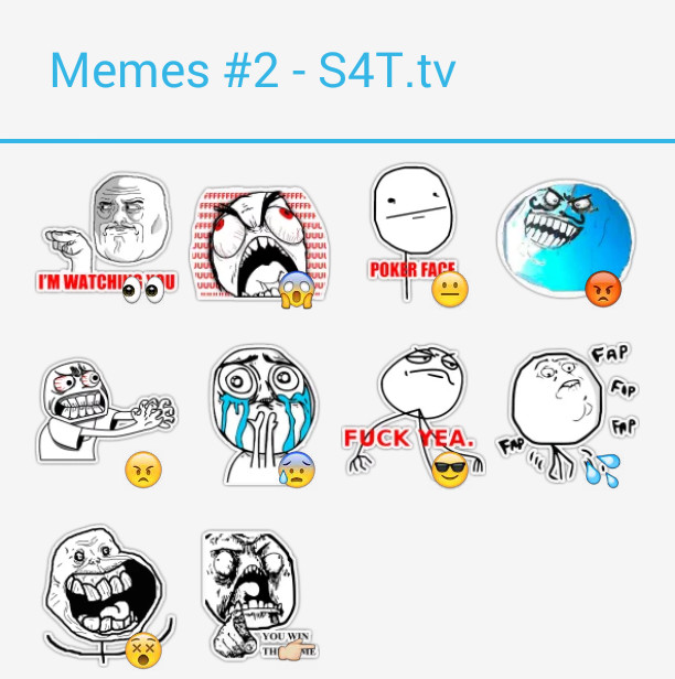 Memes Pack2 Stickers