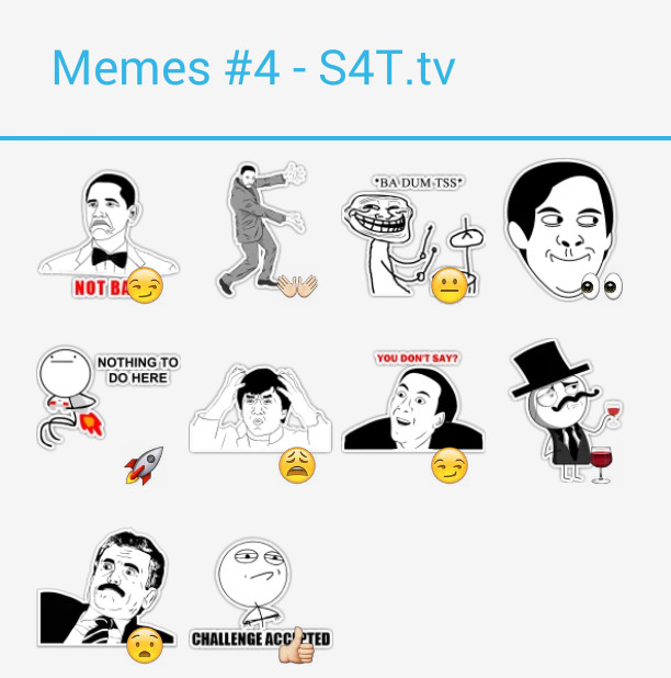 Memes Pack4 Stickers