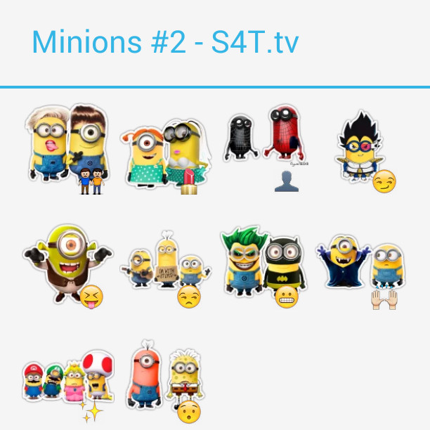 The Minions 2 Stickers