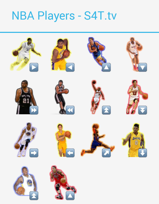 NBA Players Stickers