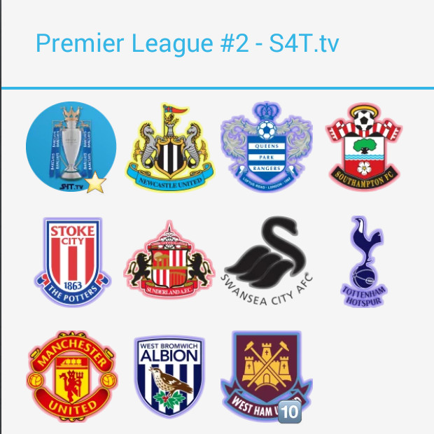 Premier League Pack2 Stickers Stickers