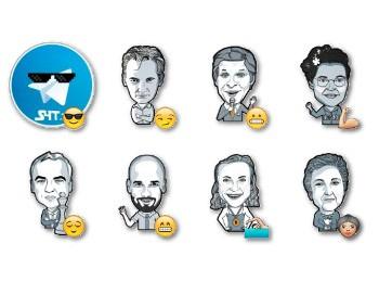 Stickers 4 Telegram Design