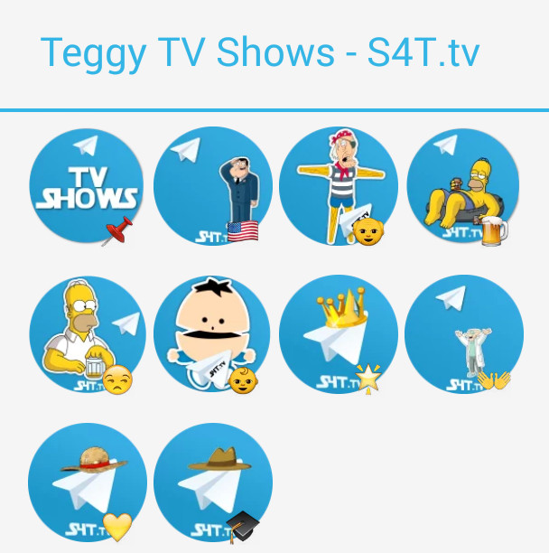 TV-Shows Stickers