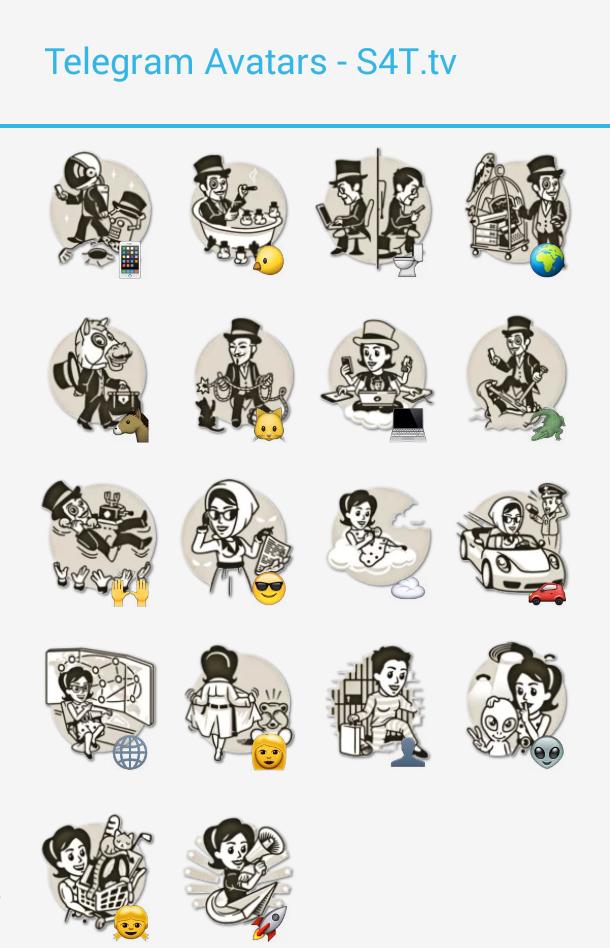 Telegram Avatars