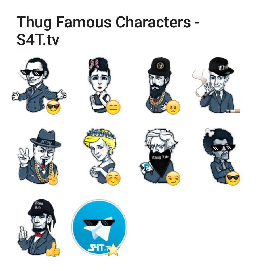 Thug Famous Characters